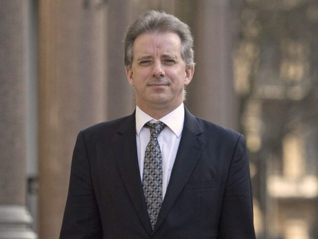 Book: FBI Revealed Trump Probe Info to Dossier Author Christopher Steele