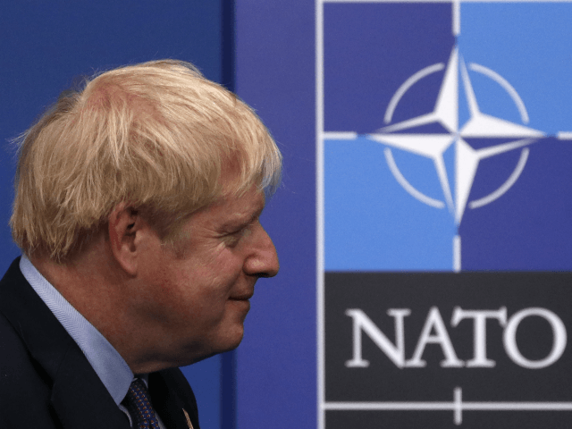 Boris Says UK 'Fully Committed' to NATO, Warns Not to Take Peace for Granted