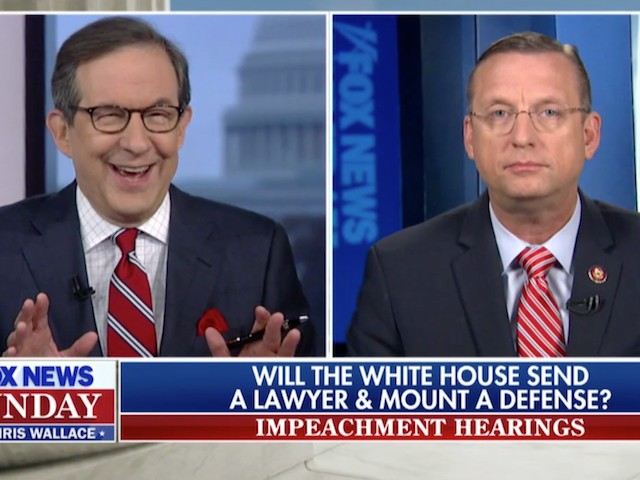 FNC's Wallace to GOP Rep. Collins: 'You're Pretty Wound Up' on Impeachment