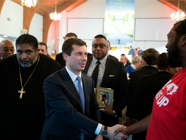 Pete Buttigieg Clings to Bible as He Looks for Votes in South Carolina
