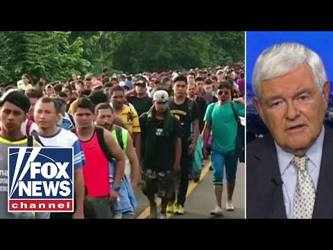 Why Gingrich says caravan is 'an attack on America'