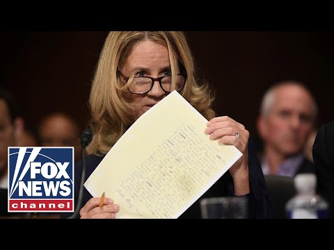 Who leaked Christine Blasey Ford's Kavanaugh letter?