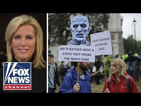 Ingraham joins Tucker to talk anti-Trump protests in London