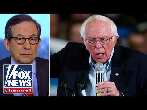Chris Wallace warns Republicans 'salivating' over the rise Bernie